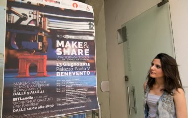 Make & Share, Tech Coffee a Benevento, Palazzo Paolo V, foto Michele Sabella