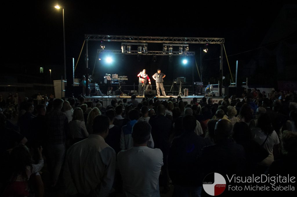 Due x Duo, Massimo Borrelli e Peppe Laurato, Benevento, Festa dell'Addolorata