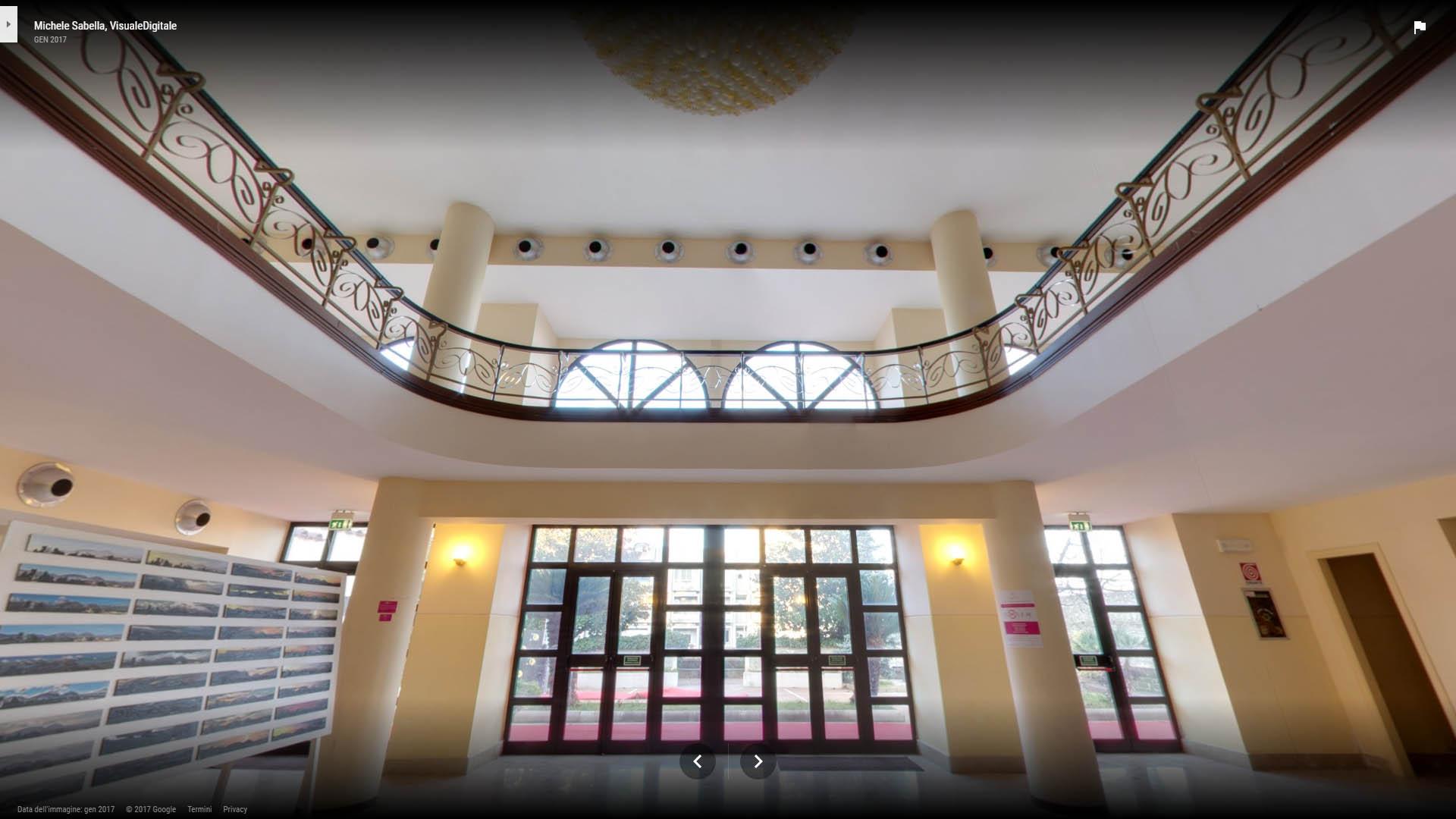 Fotografia 360 a Benevento Michele Sabella Teatro De Simone