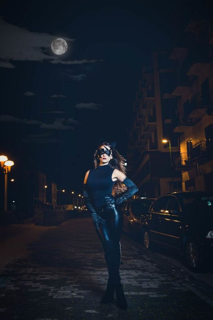 Catwoman a Benevento Model @feehxx ph @michele.sabella www.visualedigitale.com (4)