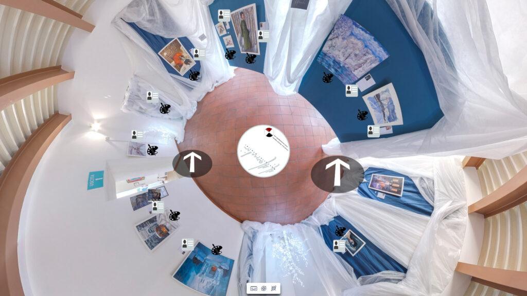 Atelier Mascolini tour virtuale realizzato da Michele Sabella, Benevento