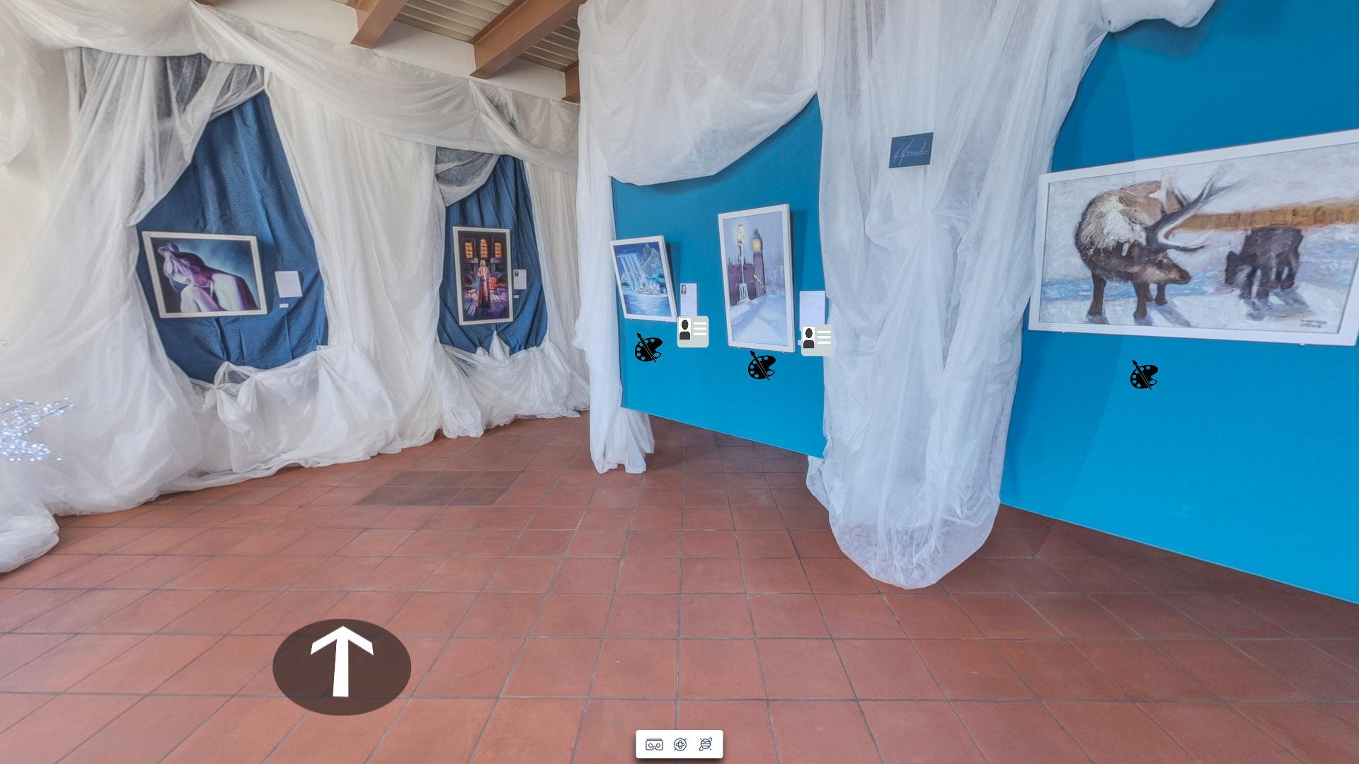 Atelier Mascolini tour virtuale realizzato da Michele Sabella, Benevento www.visualedigitale.com