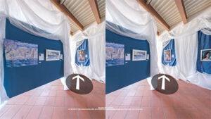 PER VISORI VR - il tour virtuale nella galleria di dipinti 'A Chrismas Imagination' realizzata per Atelier del Maestro Massimiliano Mascolini presso Castello dell'Ettore Apice Vecchia (BN)