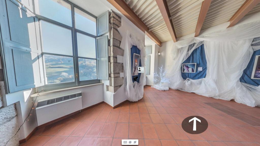 tour virtuale nella galleria di dipinti 'A Chrismas Imagination' realizzata per Atelier del Maestro Massimiliano Mascolini presso Castello dell'Ettore Apice Vecchia (BN)