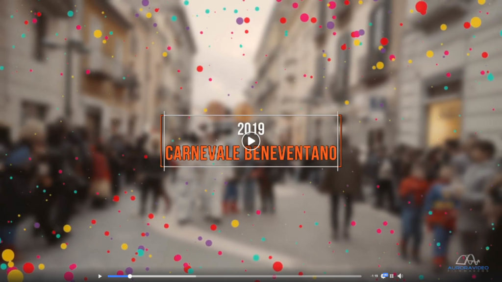 Carnevale Beneventano 2019 il video