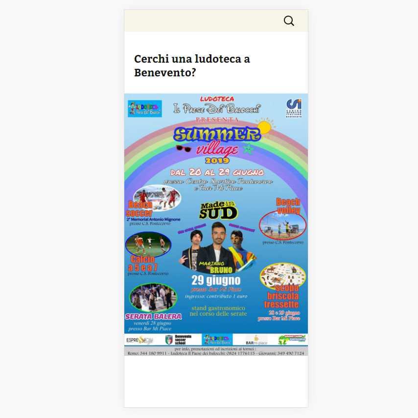 Angolodivisuale Webagency Benevento Ludoteca Il Paese Dei Balocchi versione mobile (5)