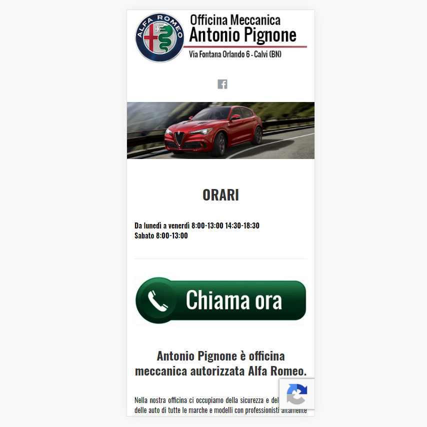 Visualedigitale Webagency Benevento Officina Antonio Pignone versione mobile (6)