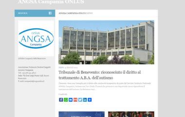 sito ufficiale ANGSA Campania angsaonlus it
