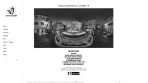 Roma Lockdown Fotografo Gianluca Lo Grasso gianlucalograsso you360 angolodivisuale intro